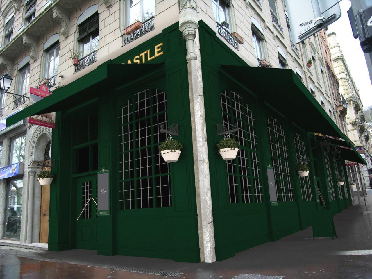 Réfection de devanture pour un Pub