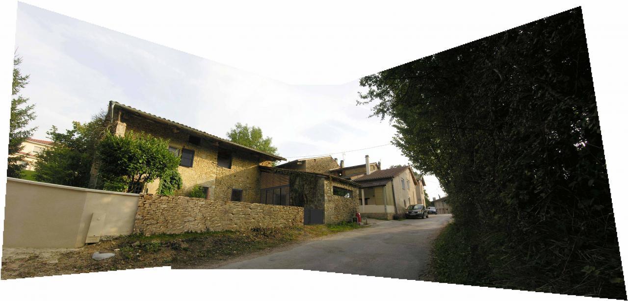 Transformation d'une ancienne ferme en habitation