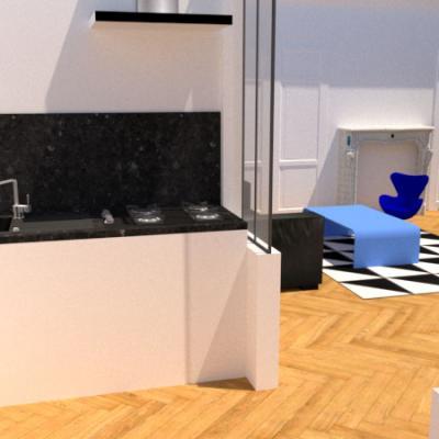 Rénovation d'un appartement / J. T.