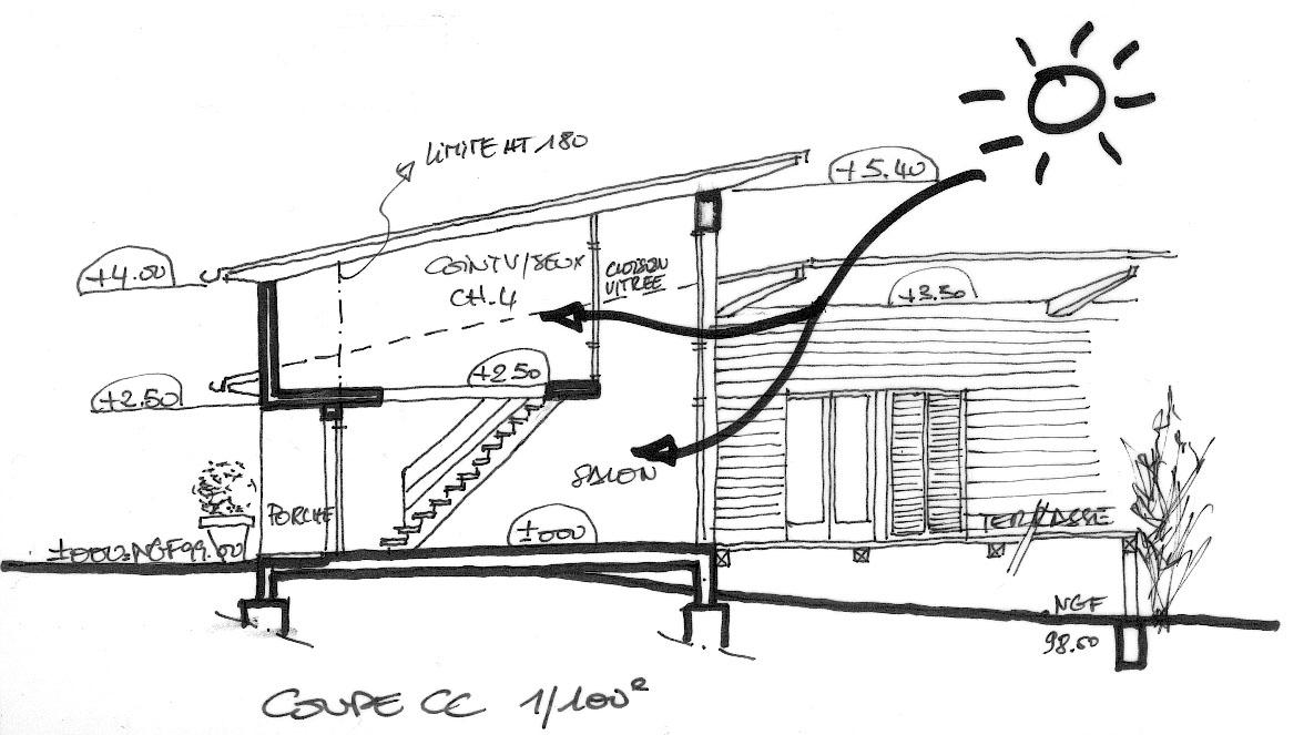 maison bois. Black Bedroom Furniture Sets. Home Design Ideas