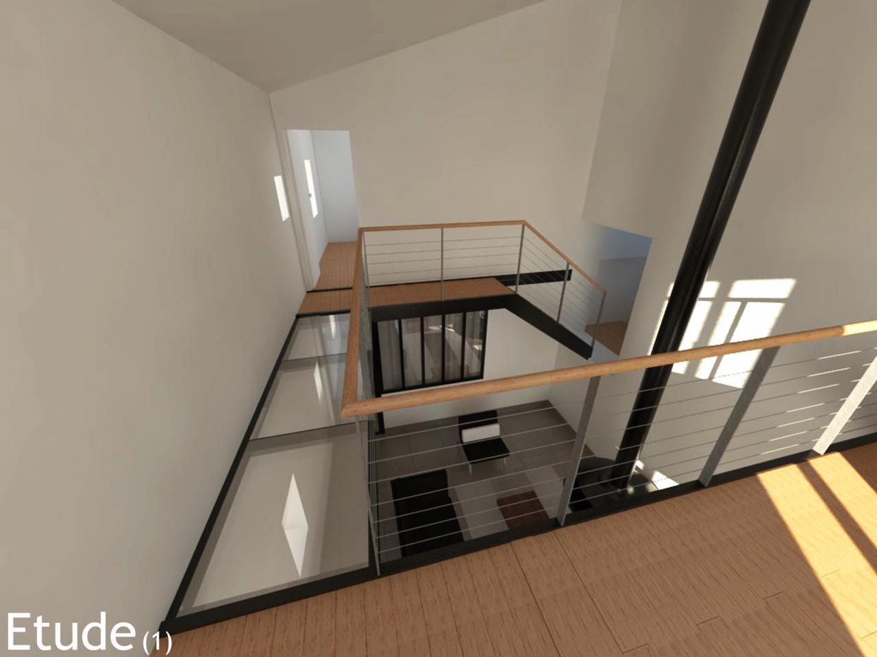 Travaux de restructuration interieure d 39 une maison for Interieure maison