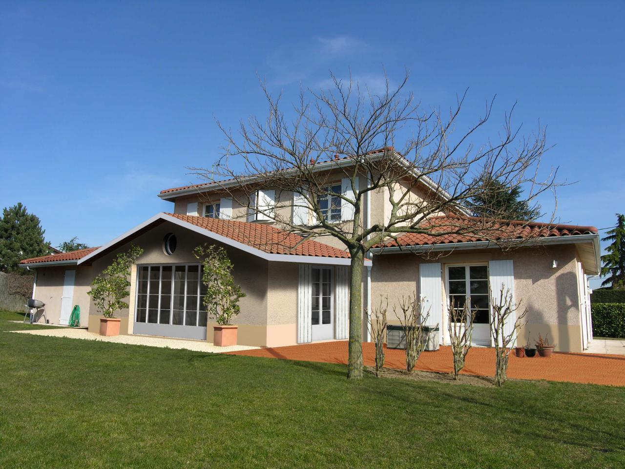 Extension d 39 une maison en rdc for Extension maison avec une tour