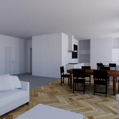 Rénovation d'un appartement / S.L.C.