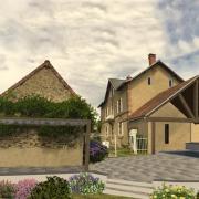 Rénovation d'une maison de famille / C.