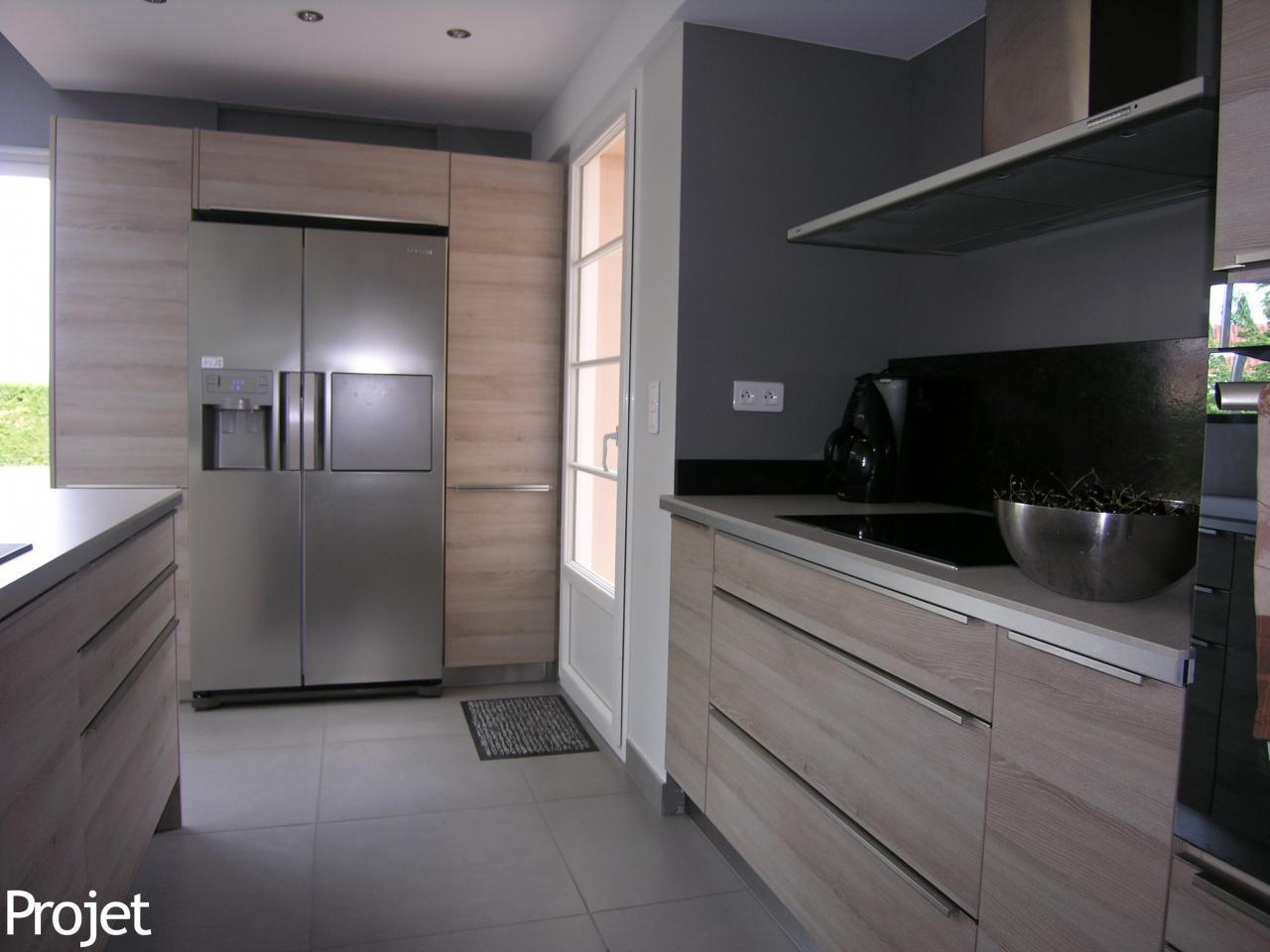 Projet cuisine finest confortable et invitante cette for Projet cuisine