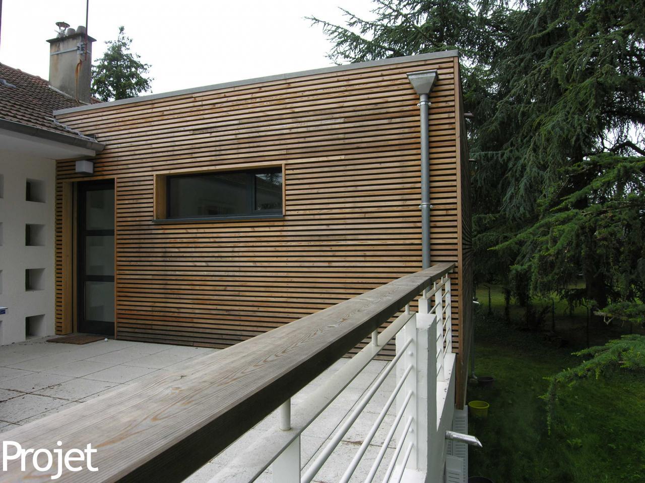 extension d 39 une maison sur garage existant. Black Bedroom Furniture Sets. Home Design Ideas
