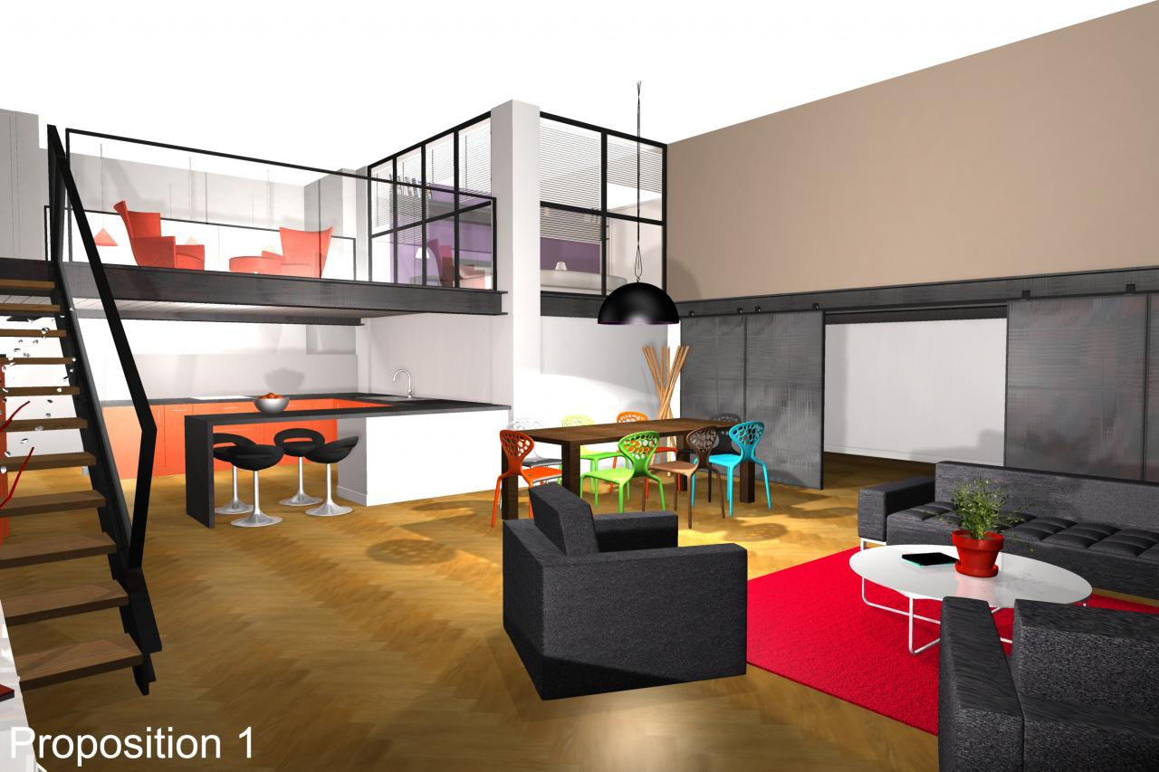 Loft interieur rurumi for Interieur loft